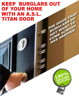 Titan Steel Doors from ASLLOCKS.COM